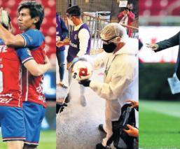 Futbolistas y técnicos del futbol mexicano ni se acordaron de las medidas vs el Covid-19