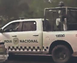 Comando embosca convoy de policías federales y estatales, en el Edomex