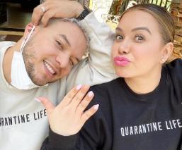 Chiquis Rivera y Lorenzo Méndez dan positivo a coronavirus, manda video a sus fans