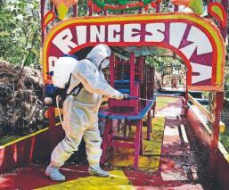 Por Covid-19, extienen ley seca en Xochimilco para evitar reuniones y fiestas