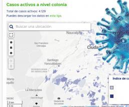 Conoce el número de casos de Covid-19 que hay en tu colonia con esta plataforma, en CDMX