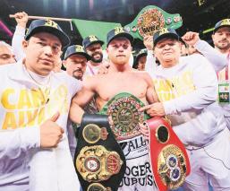 'Canelo' Álvarez dijo estar dispuesto a recortar su sueldo para volver a pelear en Las Vegas