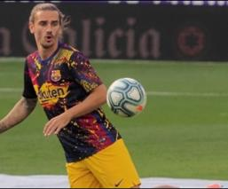 Antoine Griezmann queda fuera del Barcelona por lesión