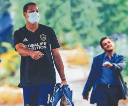 Javier 'Chicharito' Hernández afrima sentirse seguro para volver a jugar, en la MLS