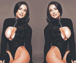 Natalia Ontiveros saca su lado más sexy, en su cumbia urbana