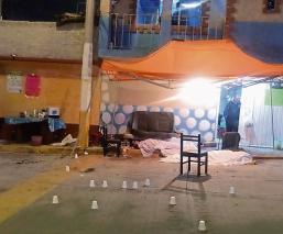 Masacre en fiesta de Chimalhuacán desata terror y muerte