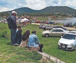 Paseantes vuelven a abarrotar La Marquesa, pese a la pandemia del Covid-19