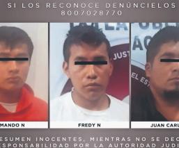 Vinculan a proceso a tres sujetos que violaron a una mesera, en el Edomex