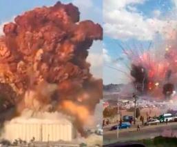 ¿Cómo fue la explosión en Tultepec, Edomex? Usuarios reaccionan ante tragedia en Beirut
