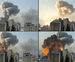 Toneladas de nitrato de amonio causaron explosión en Beirut; así se vive el terror en Líbano