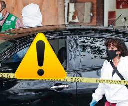 Sicarios aplican viejo truco para distraer a sus víctimas en pleno Viaducto, en la CDMX