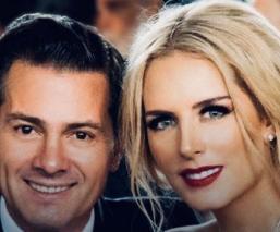 Tania Ruiz, novia de Enrique Peña Nieto confirma positivo a Covid-19