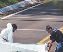 Asesinan de un balazo en el pecho a un hombre, en la México-Cuernavaca