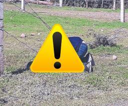 Joven corrió para no ser asesinado pero se enredó en alambre de púas, en Morelos