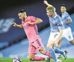 Manchester City vence al Real Madrid y pasó a los cuartos de final de la Champions League
