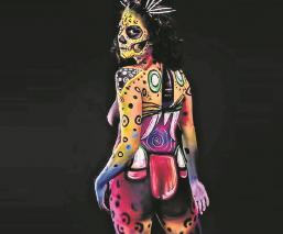 Nace el primer concurso Festival Neón de Body Paint en la CDMX