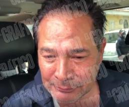Primeras palabras de Luis Miranda al salir de la casa donde su padre fue asesinado, Edomex