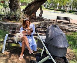 Sherlyn promueve la lactancia materna con tierna foto al lado de su pequeño André