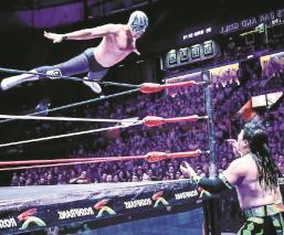 Atlantis Jr. confía en volver más fuerte a los cuadriláteros del CMLL