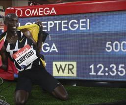 El récord mundial en los cinco mil metros tiene nuevo dueño
