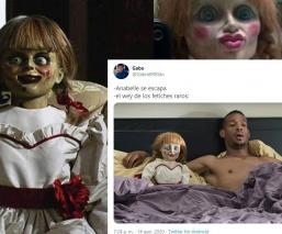 Muñeca Annabelle desaparece de su vitrina y se arman aterradoras teorías y memes en redes