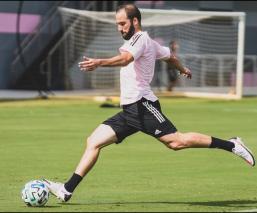 El atacante argentino ya tuvo su primer entrenamiento con el cuadro de la MLS