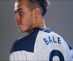 Real Madrid y Tottenham Hotspur oficializaron la cesión por una temporada del galés Gareth Bale,