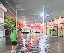 Tormentas que azotaron en la zona sur de Morelos, dejó varios damnificados