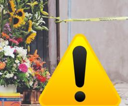 Asesinan a balazos a un hombre en un puesto de flores y vendedor acaba herido, en Morelos