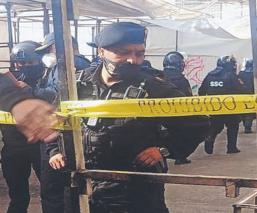 Balacera entre policías y criminales deja una persona muerta, en el Barrio Bravo de Tepito