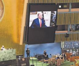 Donald Trump pide a la ONU que China pague por 'infectar al mundo' con el Covid-19