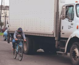 Estas son las vialidades más transitadas y peligrosas para los ciclistas, en Toluca