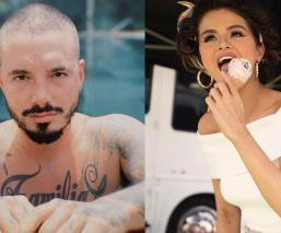 J Balvin y Selena Gómez, entre la lista de las personas más influyentes de 2020