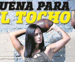 A través de cápsulas, Cintia Medina comparte su pasión por el futbol americano