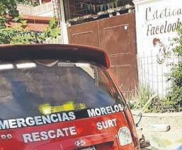 Albañil muere al resbalar y caer seis metros mientras echaba el colado, en Morelos