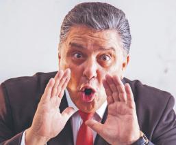 El comediante y standupero Rogelio Ramos ofrecerá show gratuito en Facebook y Youtube