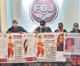Padres de mujeres desaparecidas denuncian que el agente del MP abandonó los casos, Edomex