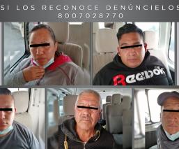 Atoran a cinco policías del Estado de México acusados de secuestro