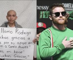 Canelo Álvarez hace donación en apoyo a niños con cáncer