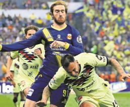 Club América ha sufrido más de 20 bajas por lesiones en lo que va del año