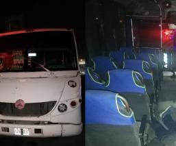 Par de asaltantes son desarmados y asesinados por pasajeros de un camión en Edomex