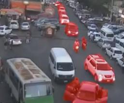 Graban viaje de convoy del Cártel de Tláhuac al sur de la Ciudad de México