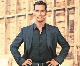 Matthew McConaughey revela haber sufrido abuso sexual a los 18 años