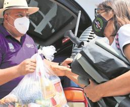 Secretaría de Desarrollo Social se deslinda de venta de despensas en Morelos