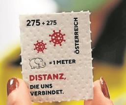 Austria imprime una estampilla para recordar el Covid-19 en papel higiénico