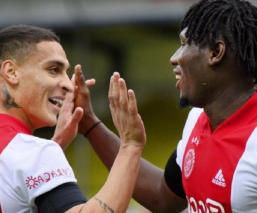 Brutal goleada del Ajax 0-13 al VVV Venlo en la Eredivisie