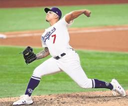 Con la Serie Mundial a favor de Dodgers, Julio Urías busca acercar a su novena al cetro