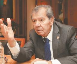 Porfirio Muñoz Ledo pide a morenistas rechazar triunfo de Mario Delgado, en la CDMX