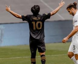 Carlos Vela marca golazo con Los Ángeles FC en su regreso tras dos meses de lesión