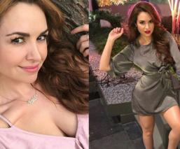 La sexy chica del clima Mayte Carranco abre garganta y se lanza de cantante